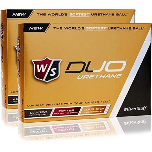 Wilson Staff Duo Urethane Golf Balls - 2 Dozen by Wilson Golf