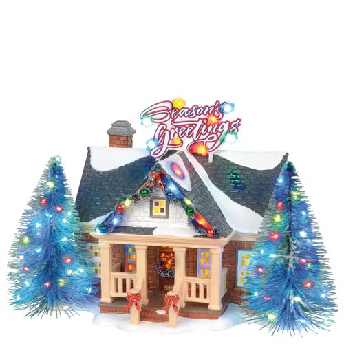 Department 56 Original Snow Village Brite Lites Holiday House