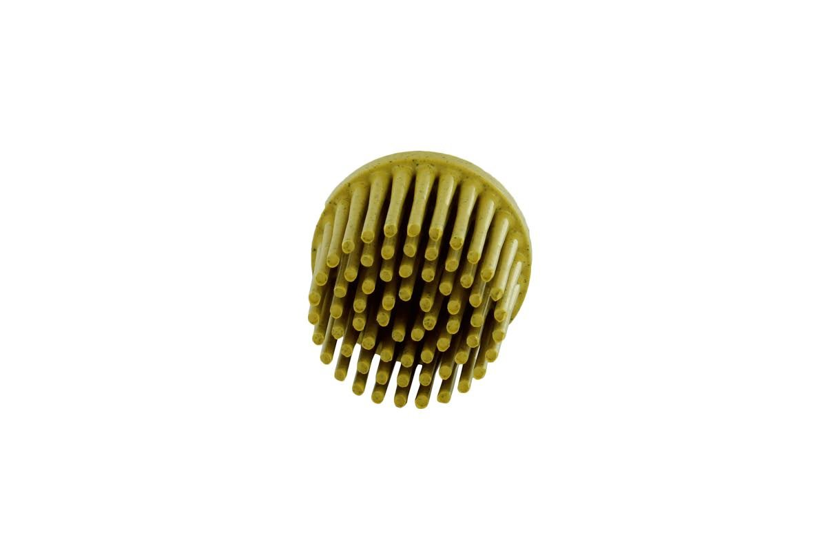 1 Disc Yellow, 3M 18706 1 Inch Roloc Bristle Disc 80 Grit