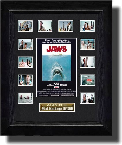 Jaws (1975) Filmcell Comes with Certificate of Authenticity by Film Cell