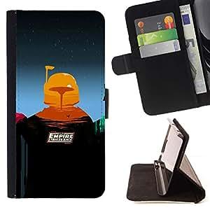 Momo Phone Case / Flip Funda de Cuero Case Cover - Imperio Contraataca - Sony Xperia Z3 D6603