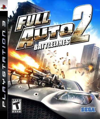 Full Auto 2: Battlelines - Playstation 3 (Best Ps3 Flying Games)