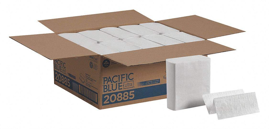 Georgia Pacific Paper Towel BigFold Z Premium C-Fold 8 X 11 Inch 20885 Case//10