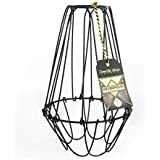 Wire lamp shade frames and how to make them amazon alva metropolis large cage wire lamp shade keyboard keysfo Choice Image