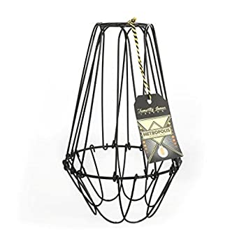 Metropolis large cage wire lamp shade amazon lighting metropolis large cage wire lamp shade greentooth Images