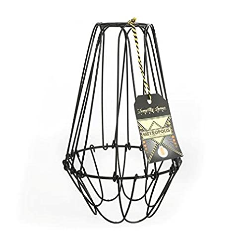 Metropolis large cage wire lamp shade amazon lighting metropolis large cage wire lamp shade greentooth