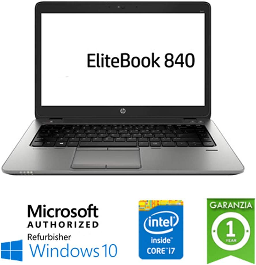 Portátil HP EliteBook 840 G1 Core i7 – 4600U 8GB 180GB SSD 14 in ...