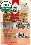 24 mantra Organic Fenugreek Seeds (7 oz) [USDA Certified] Whole Methi Seeds