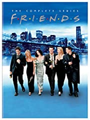 Friends: The Complete Series Collection (25th Anniversary/Repackaged/DVD)This is a show about love and sex and careers and a time in life when everything is possible ... about the search for commitment and security ... and the fear of commitm...