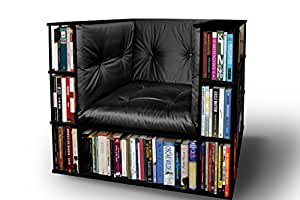 Gentleman 39 S Luxury Library Bookcase Chair In