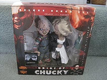 Amazon.com: Movie Maniacs 2 novia de Chucky figura de acción ...