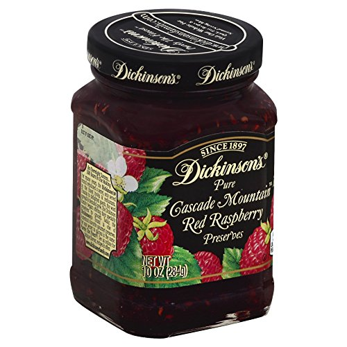 Dickinsons Red Raspberry Preserves  10 Oz
