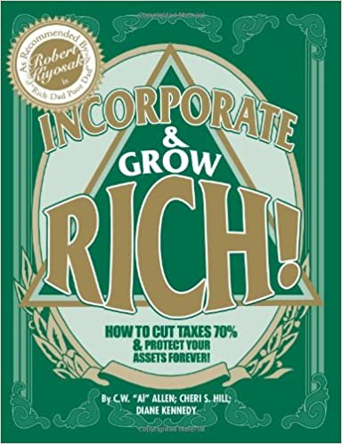 Book By C. W. Allen - Incorporate & Grow Rich (3rd Edition) (8/16/99)