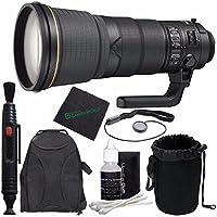 Nikon AF-S NIKKOR 400mm f/2.8E FL ED VR Lens + Lens Cleaning Pen + Microfiber Cleaning Cloth + Lens Cap Keeper + SLR Lens Pouch Bundle