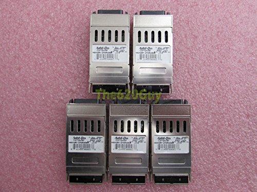 Lot of 5 Add-On WS-G5484 1000Base-SX Multi-Mode Fiber GBIC Transceiver Module