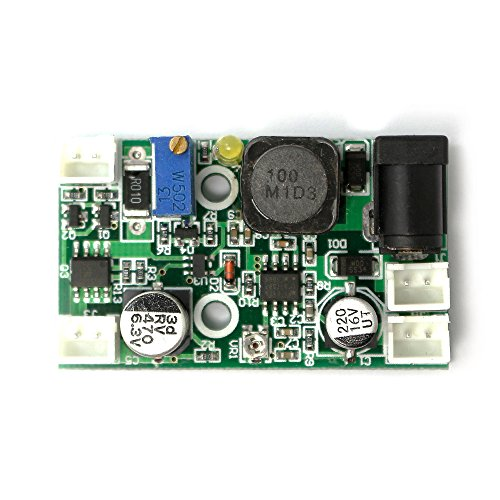 405nm 445nm 450nm Laser Diode LD Driver Board 12V 2W Step-Down Constant Current Drive Circuit of TTL Modulation Power Supply