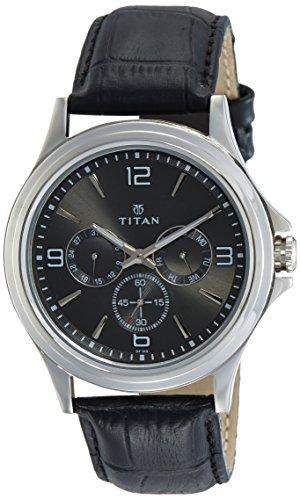 Titan Analog Grey Dial Men #39;s Watch NM1698SL02/NN1698SL02