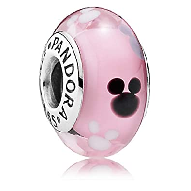 0bd6cff89 Image Unavailable. Image not available for. Color: PANDORA MICKEY MOUSE  ICON MURANO DISNEY PARKS ...