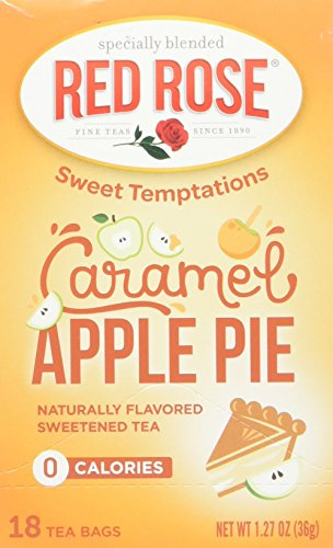 Red Rose Carmel Apple Pie Tea, 18 ct, 2 pack