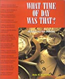 What Time of Day Was That?, Dale R. Patterson, 1550411233