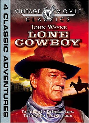 Lone Cowboy: John Wayne 4 movie pack by Vintage Home Entertainment