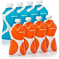 8-Pack Squooshi Reusable Food Pouch