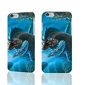 """Monster Hunter Seabed Dragon 3D Rough New Design iphone 6 -4.7 inches Case Skin, fashion design image custom iPhone 6 - 4.7 inches , durable iphone 6 hard 3D case cover for iphone 6 (4.7"""") Case"""
