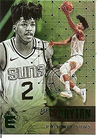 reputable site e3ccb c1a6e Amazon.com: 2017-18 Essentials Green #55 Elfrid Payton Suns ...