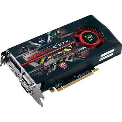 XFX HD-577A-ZNFR Radeon HD5770 1GB GDDR5 - Tarjeta gráfica (AMD ...
