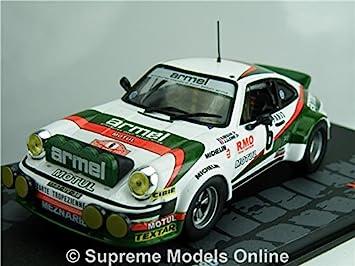 Porsche 911 Sc Rally Model Car Beguin 1 43 Scale 1980 Ixo Monte