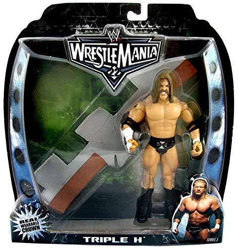 WWE Wrestlemania 22 Triple H 7 inch Figure