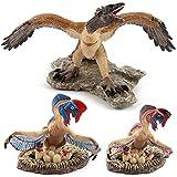 Pack of 3 Jurassic world simulation dinosaur /Dinosaur World /Dinosaur egg Archaeopteryx oviraptors