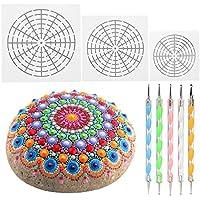 Kit de herramientas de pintura Mandala con 5