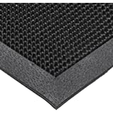 NoTrax T28 SBR Rubber Finger Scrape Entrance Mat for Wet and Dry Areas