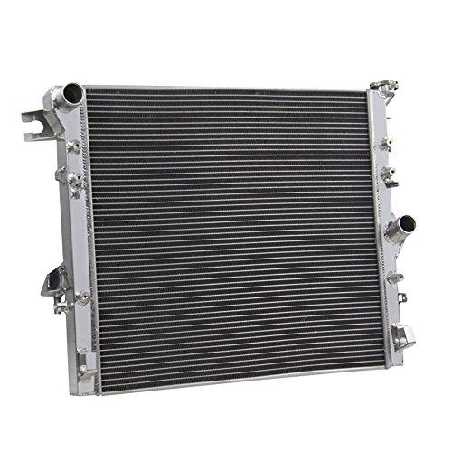 OzCoolingParts Jeep Radiator - Designs Pro 3 Row Core Aluminum Automotive Radiator for 2007-2015 Jeep Wrangler JK 3.6L 3.8L 2008 2009 2010 2011 2012 2013 2014, Automotive Engine Radiators -