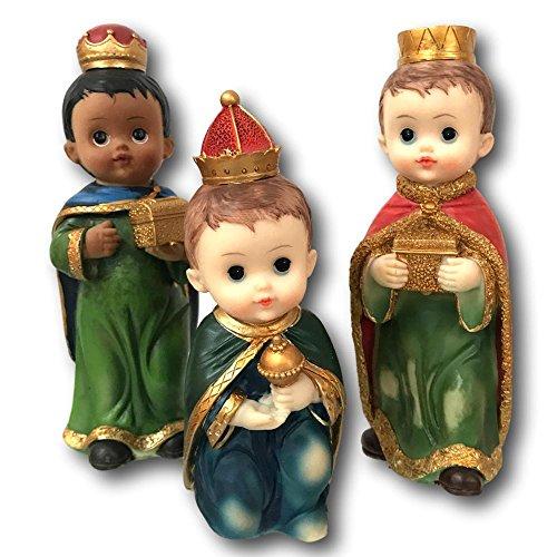 - Turtle King Three Kings Figurines 8