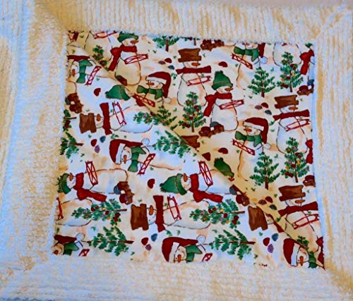 The Cutest and Softest Christmas Holiday Blanket | Baby's Little Treasures ()