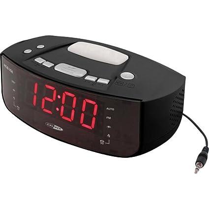 Caliber hcg101 Radio Reloj FM Digital Negro