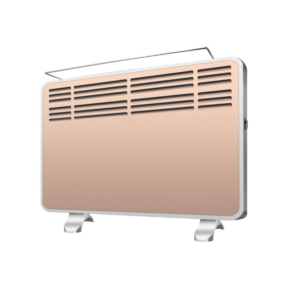 Acquisto GYH Riscaldatore a convezione, Regolabile 3 impostazioni di Calore Portatile 2100 W IPX2 Impermeabile con ripiano portaoggetti Pieghevole Color Oro (#) Prezzi offerte