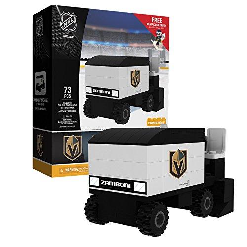 OYO Sports NHL Buildable Zamboni Las Vegas Golden Knights
