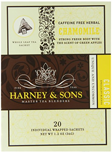 Harney and Sons Chamomile Tea, 20 Count (Pack of 6)