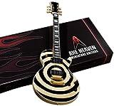Axe Heaven ZW-007 Electric Cream Bulls Eye Miniature Guitar Replica