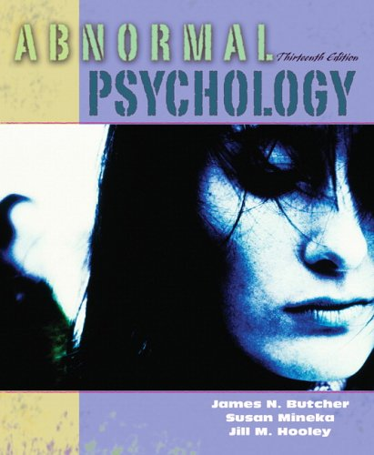 Abnormal Psychology (13th Edition) -