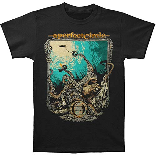 Hombre Circle Perfect A The Negro Negro Camiseta de Depths Negro wYZZdq