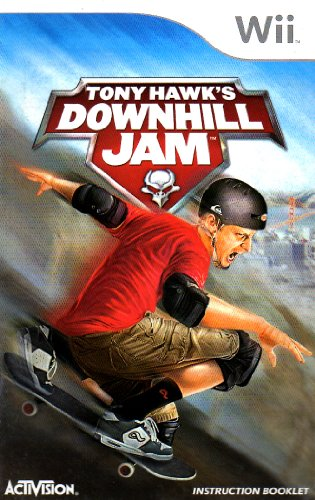 Tony Hawk's Downhill Jam Wii Instruction Booklet (Nintendo Wii Manual Only - NO GAME) [Pamphlet only - NO GAME INCLUDED] Nintendo
