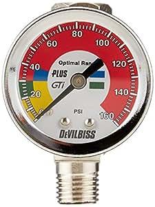 DeVilbiss HAV511 Air Adjusting Valve with Gauge