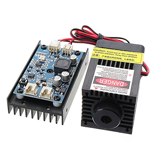 450nm 3.5W Blue Module With TTL Modulation for DIY Cutter Engraver by LEEPRA