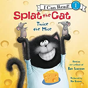 Splat the Cat: Twice the Mice Audiobook