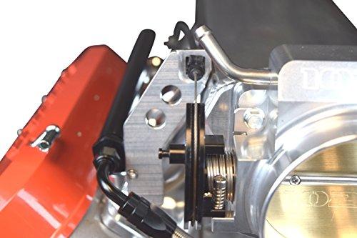 ICT Billet LS1 Adjustable Throttle Cable Bracket For 102mm