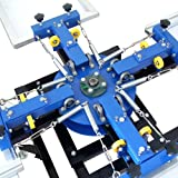 4 Color 4 Station Silk Screen Commercial Printing